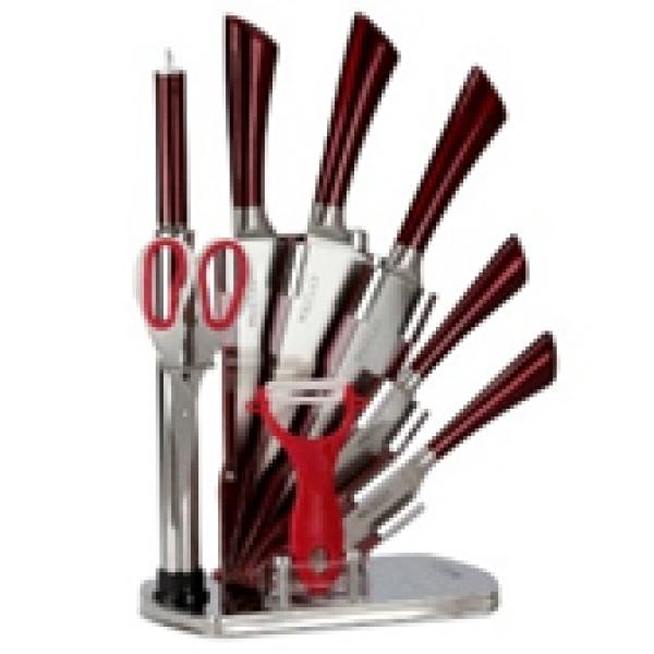 Набор ножей из 9 предметов