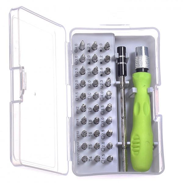 Набор отверток с магнитным наконечником (32 предмета)