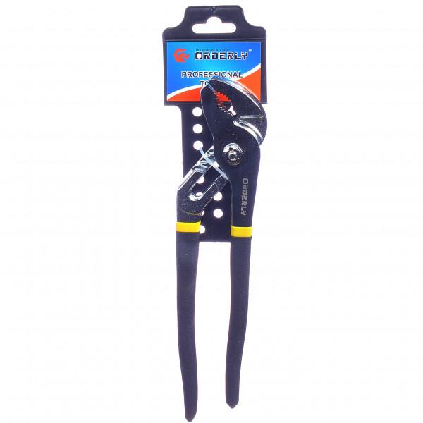 """Переставной ключ с прорезиненной ручкой (10"""")"""
