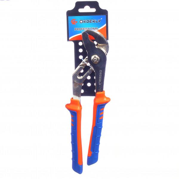 """Переставной ключ с пластиковой ручкой (10"""")"""