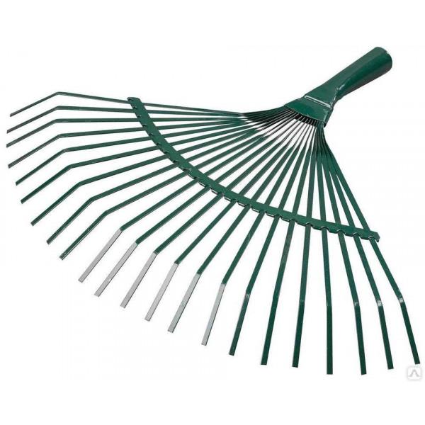 Грабли веерные (зеленые)