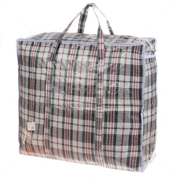 Клетчатая сумка челнока (50*40*30)