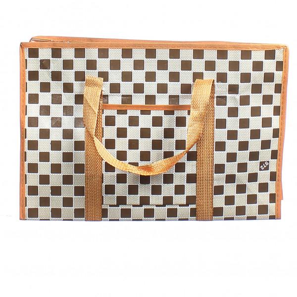 Клетчатая сумка челнока (50*30*20)