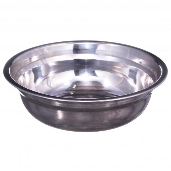 Миска металлическая нержавеющая (18 см)