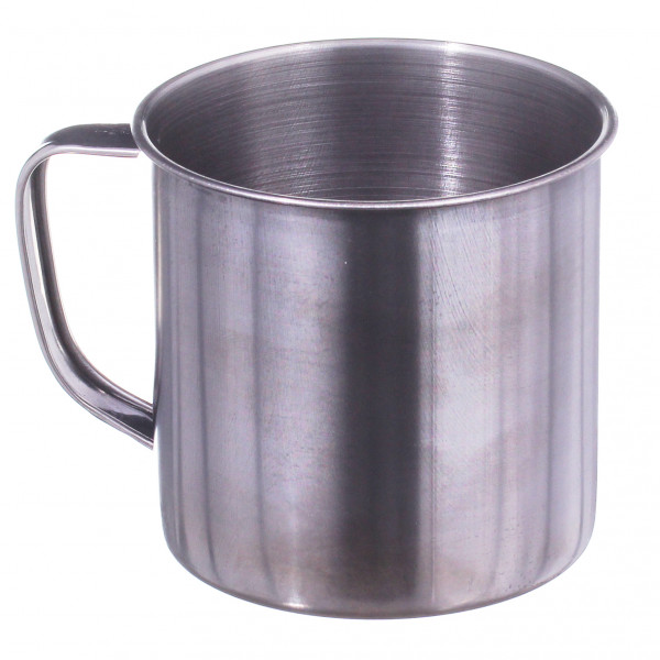 Кружка металлическая нержавеющая (10 см)