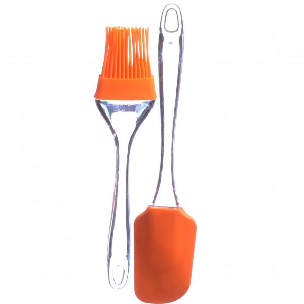 Набор шпателя для кухни (шпатель и кисточка)