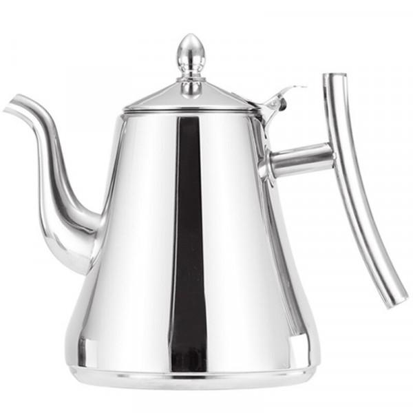 Заварочный чайник нержавеющий (1 л)
