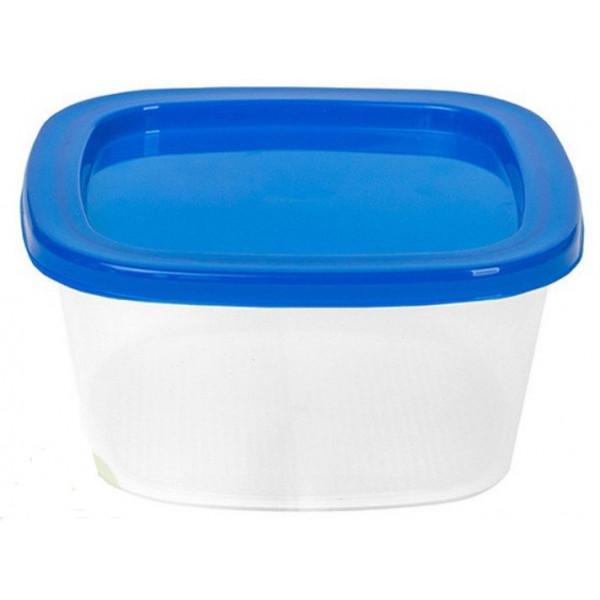 Контейнер для СВЧ и заморозки 1 шт. - 2,65 л квадратный (21х21х10 см)