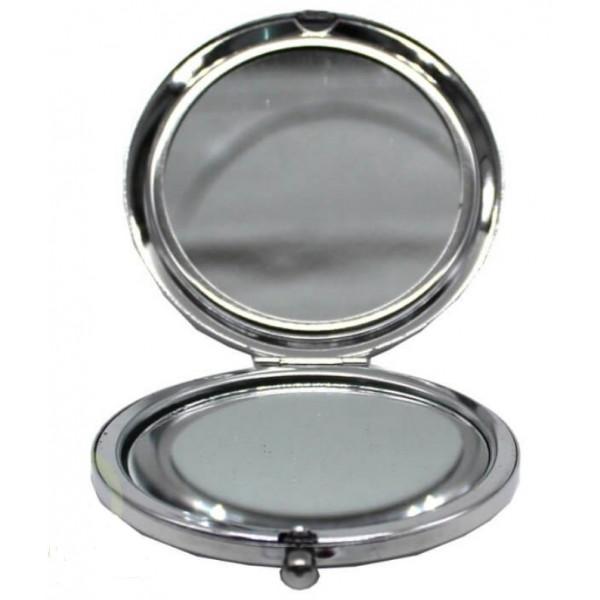 Зеркало складное, подарочное, металл, в подарочной коробке