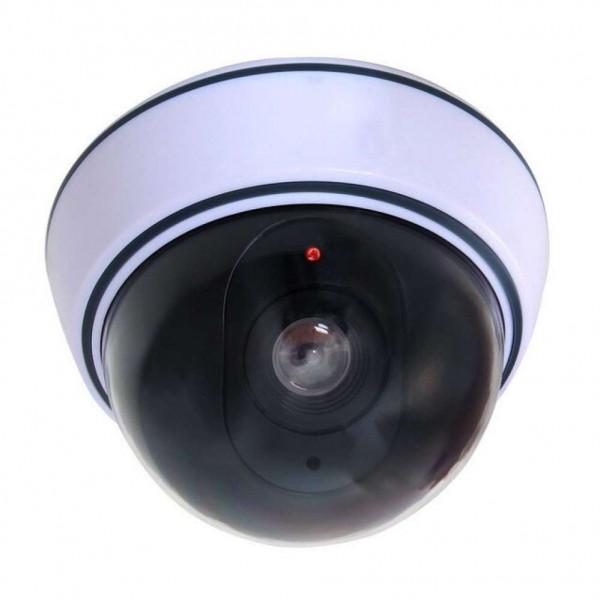 Муляж купольной камеры видеонаблюдения с LED-индикатором Dummy
