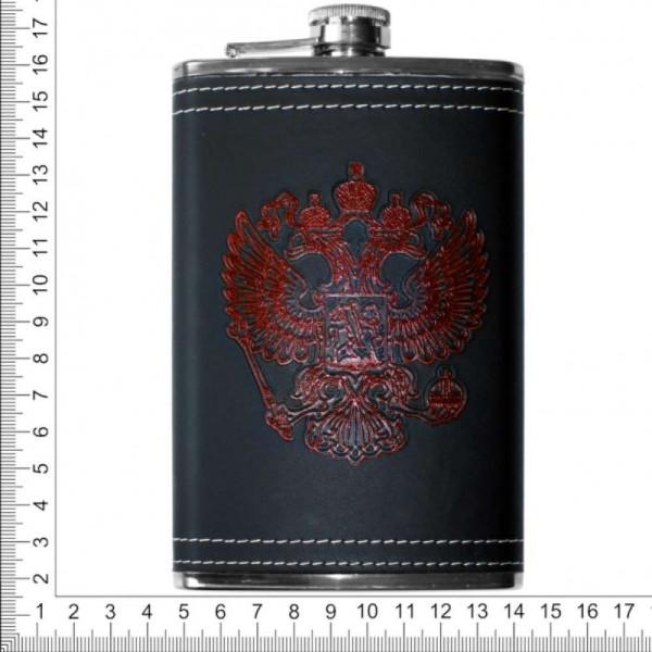 Фляжка из нержавейки 10 oz Россия/СССР