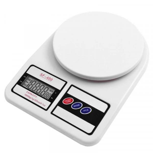Электронные кухонные настольные весы 7 кг SF-400