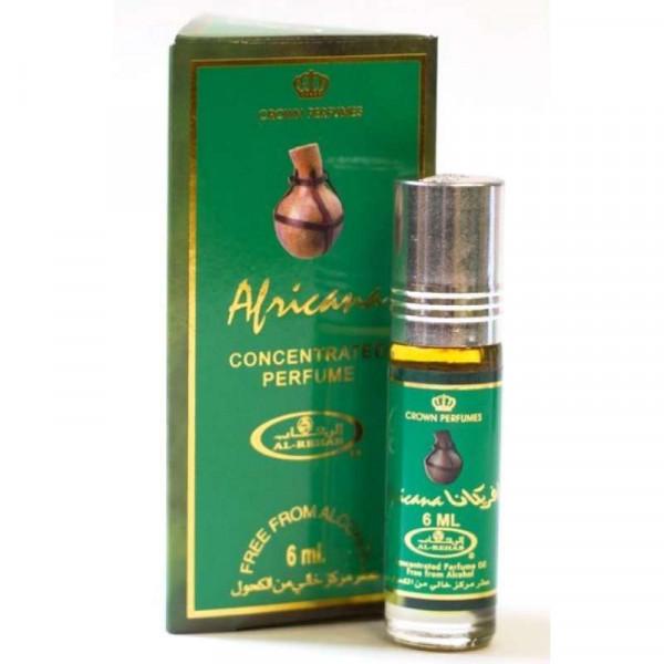 Масляные духи AL REHAB Africana с роллером 6 мл