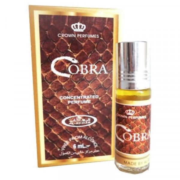 Масляные духи AL REHAB COBRA с роллером 6 мл