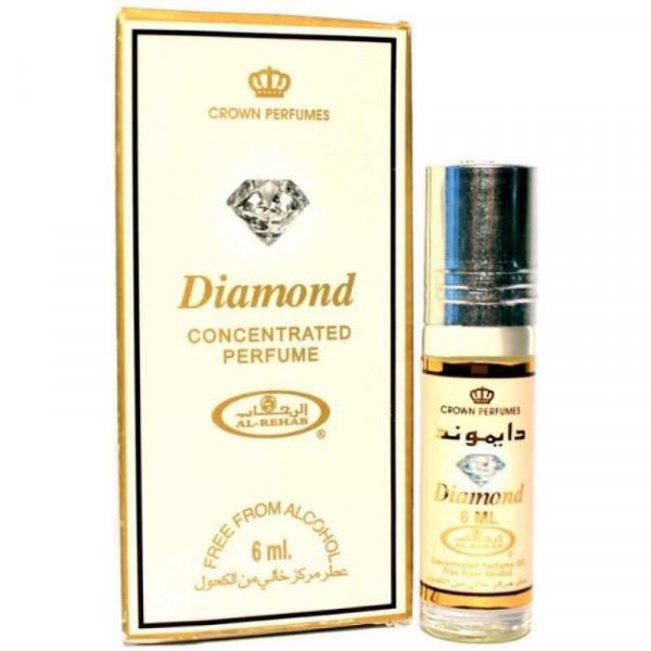 Масляные духи AL REHAB DIAMOND с роллером 6 мл