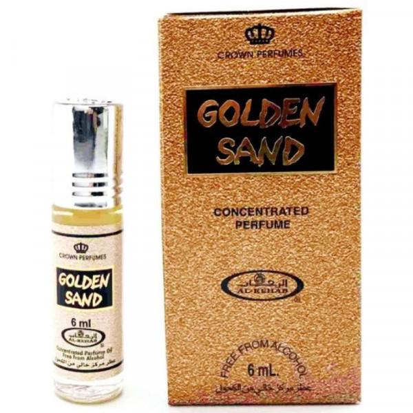 Масляные духи AL REHAB GOLDEN SAND с роллером 6 мл