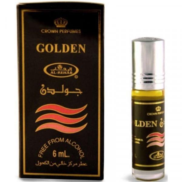 Масляные духи AL REHAB GOLDEN с роллером 6 мл