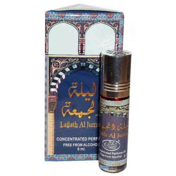 Масляные духи AL REHAB LAILATH AL JUMUA с роллером 6 мл
