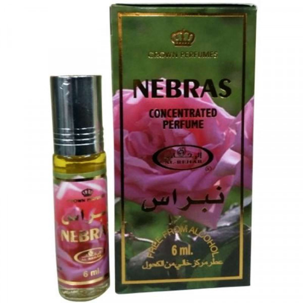 Масляные духи AL REHAB NEBRAS с роллером 6 мл