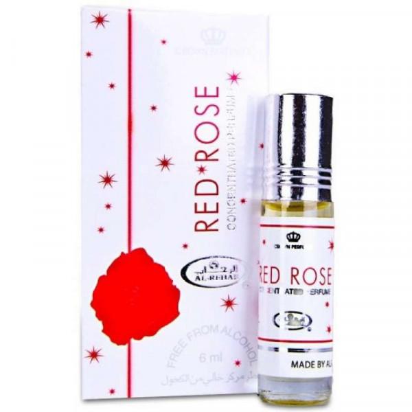 Масляные духи AL REHAB RED ROSE с роллером 6 мл