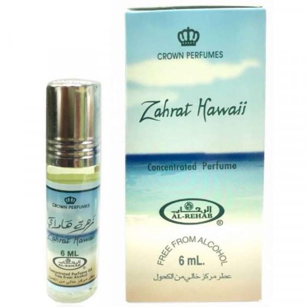 Масляные духи AL REHAB ZAHRAT HAWAII с роллером 6 мл