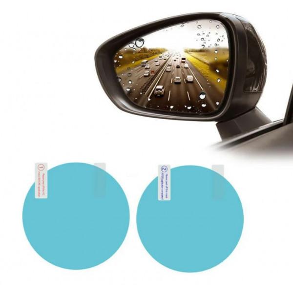 Наклейка на зеркало заднего вида Anti-Fog 100x100