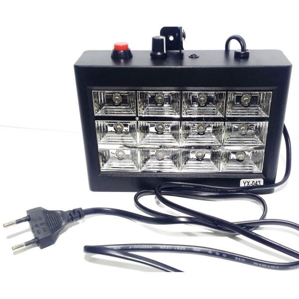 Светодиодный стробоскоп LED Room Strobe 12 YX-043