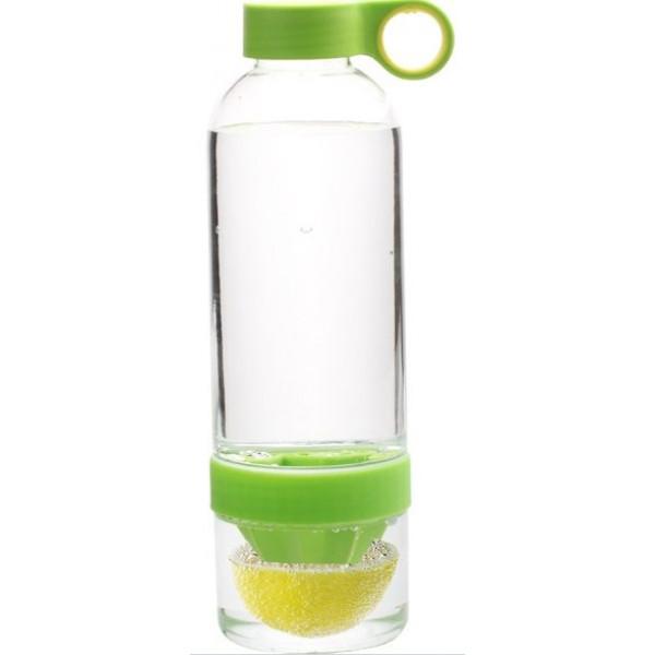 Бутылка соковыжималка Лемон Кап 0,83 л зеленая