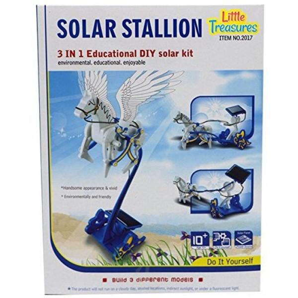 Игрушка конструктор на солнечной батарее Solar Stallion 3 in 1