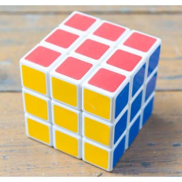 Игрушка Кубик-рубика (белый с цветным)