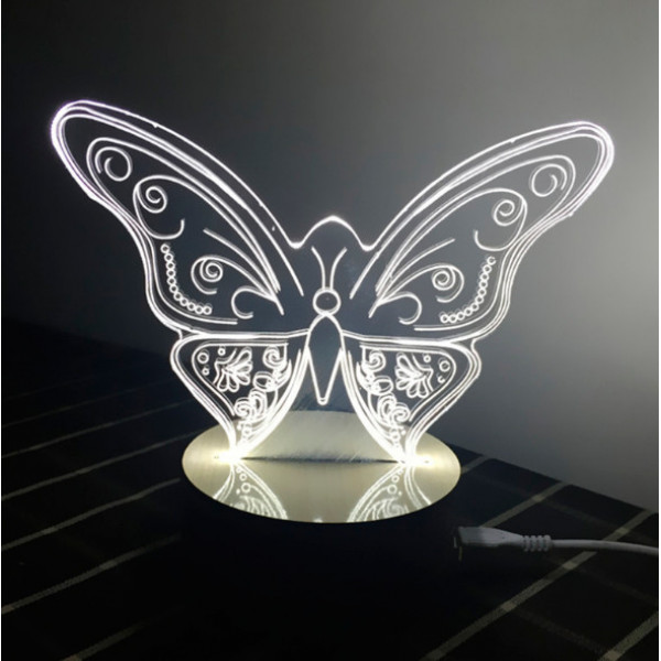 Светильник 3D Бабочка
