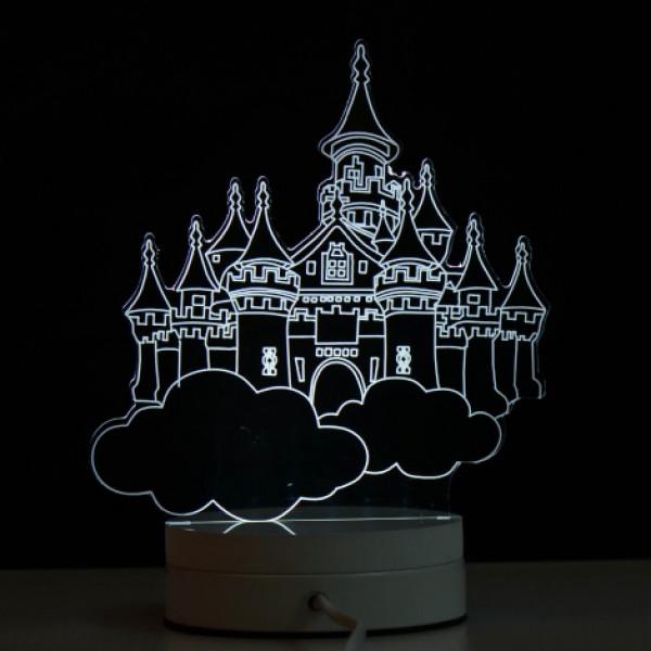 Светильник 3D Замок