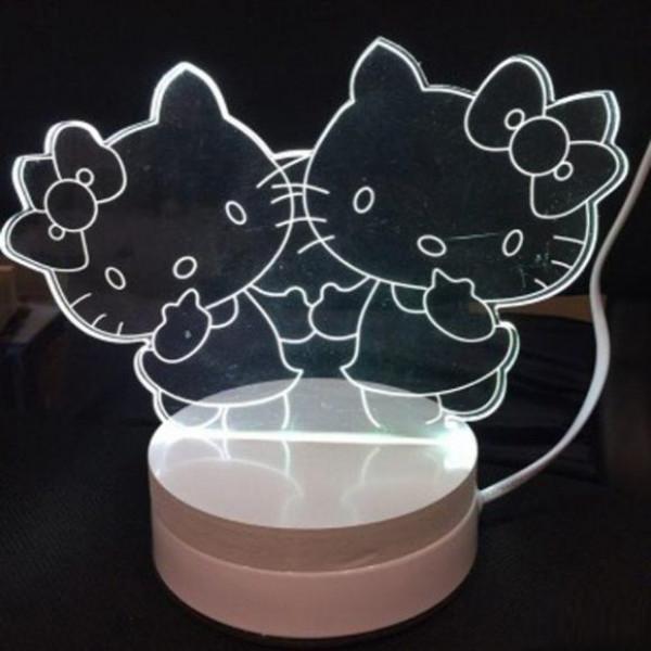 Светильник 3D Китти