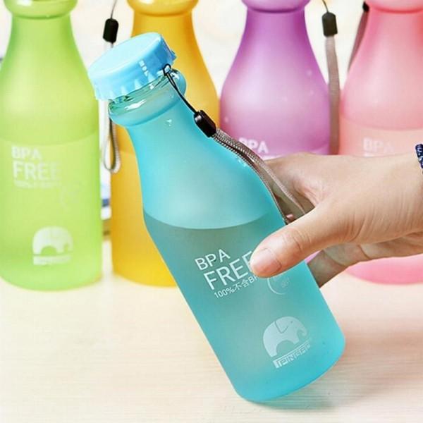 Матовая эко бутылка «BPA Free» 0,55 л