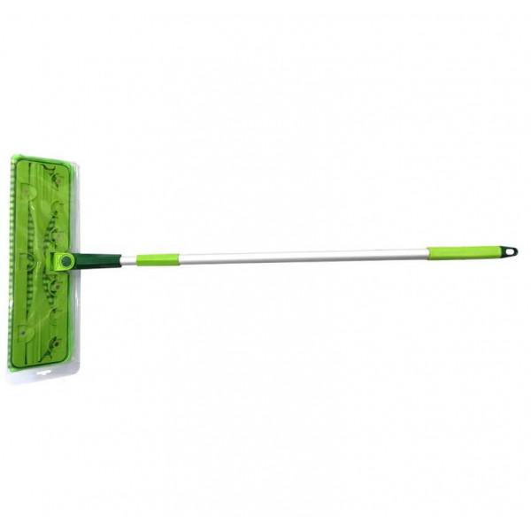 Швабра Микрофибра, насадка на магнитах, телескопическая ручка