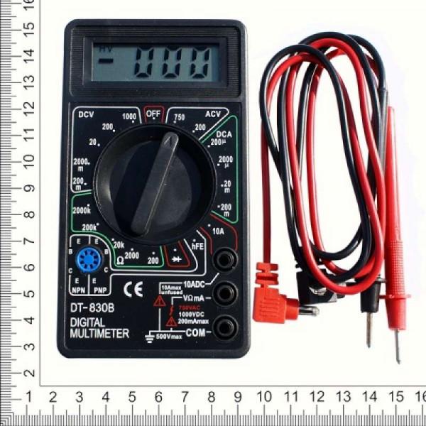 Мультитестер цифровой DT-830B