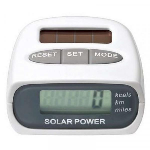 Шагомер на солнечных батареях Solar Power