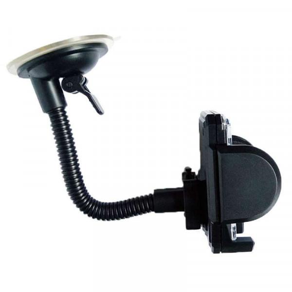 Автомобильный держатель для телефона на присоске с гибким регулятором (длина 15 см) и фоторамкой QS-1785