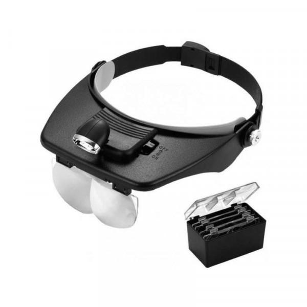 Бинокулярные очки Light Head Magnifying Glass (81001A)