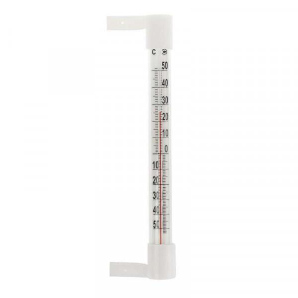 Термометр оконный стеклянный Т-5 на липучке