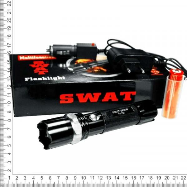 Фонарь ручной аккумуляторный ZOOM SWAT NB-W110 сверхмощный