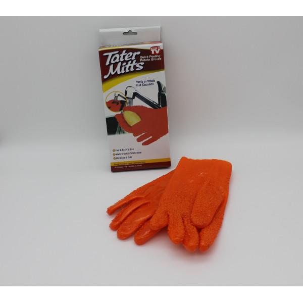 Перчатки для чистки овощей Tater Mitts Gloves