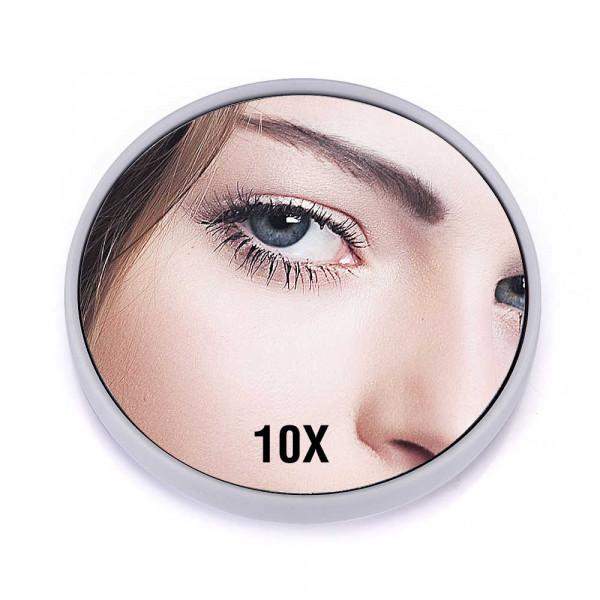Увеличительное зеркало для макияжа на присосках