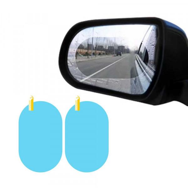 Наклейка на зеркало заднего вида Anti-Fog 100x150