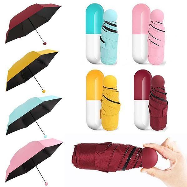 """Зонт в футляре """"капсула"""""""