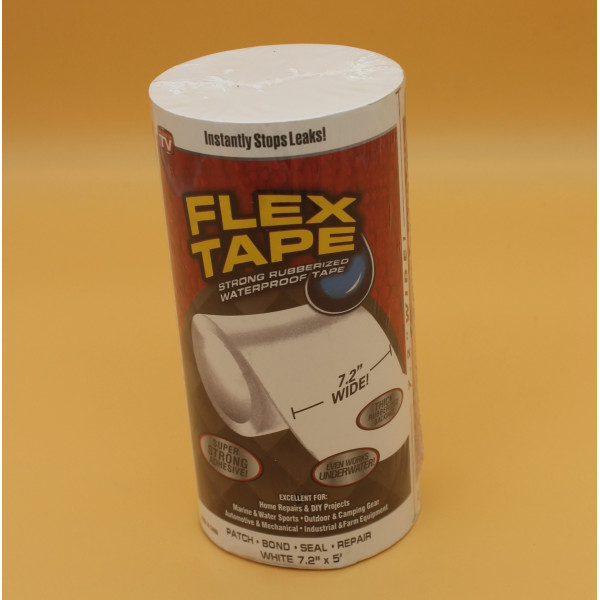 Водонепроницаемая изоляционная лента Flex Tape большая (белая)