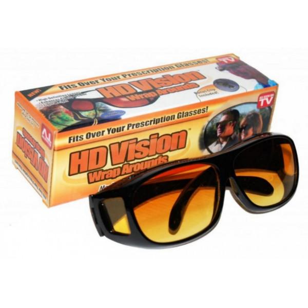 Очки для водителей HD Vision желтые