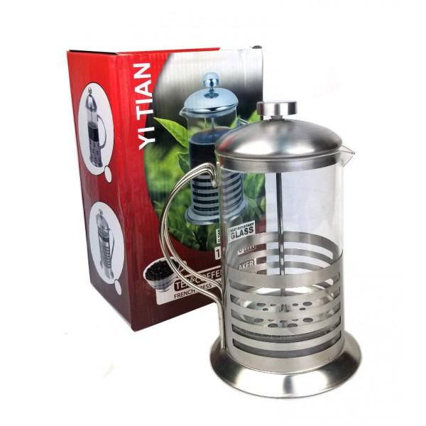 Френч-пресс - заварочный чайник, 1000ml