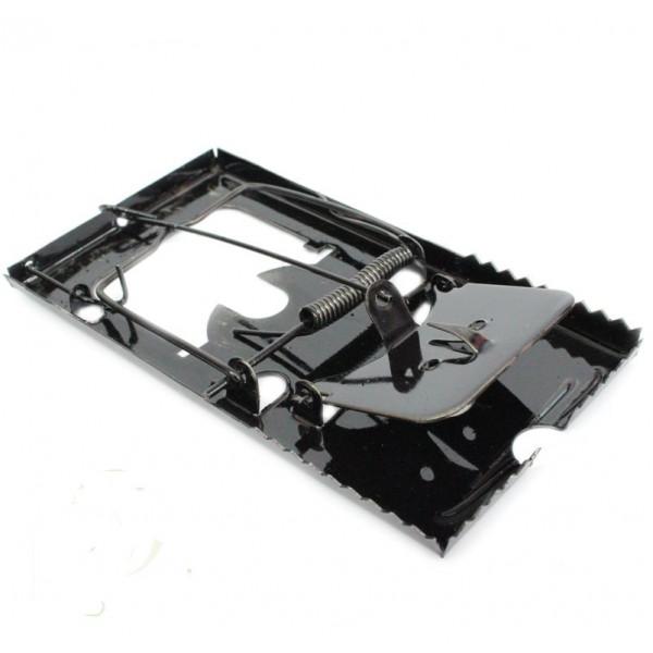 Мышеловка черная металл, 13х7 см