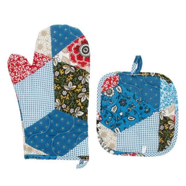 Кухонный набор - прихватка и рукавичка